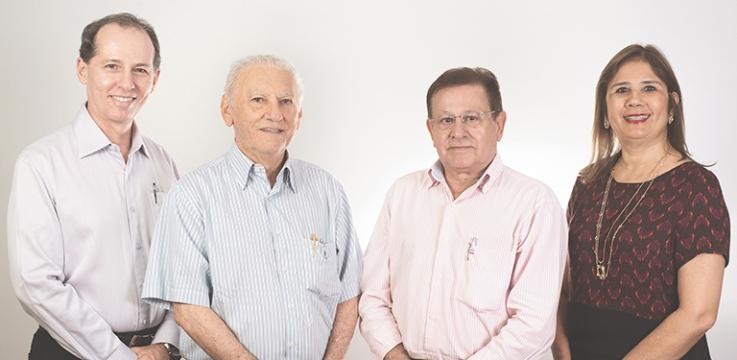Dr. Randal Pompeu Ponte – Diretor Técnico Dr. Paulo Ernesto Monteiro Cavalcante – Diretor Administrativo Dr. Francisco Álvaro de Andrade Neto – Diretor Presidente Dra. Suely Kubrusly – Diretora Financeira